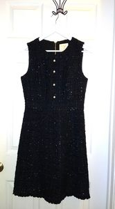 Sparkle tweed dress